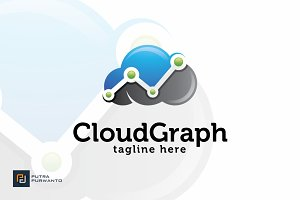 Cloud Graph - Logo Template
