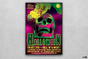 Halloween Flyer Template V14