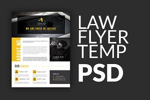 Law Flyer Template