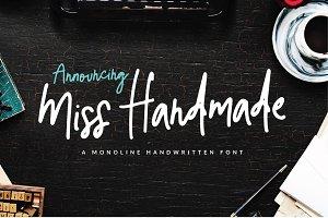 Miss Handmade Script