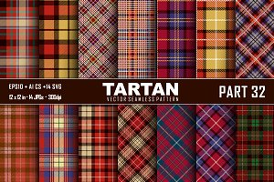 Seamless  Tartan Pattern Part - 32