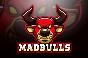 Mad Bulls Logo