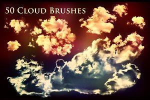 50 Cloud Brushes