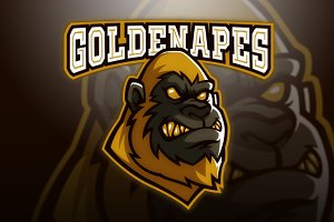 Golden Apes Logo