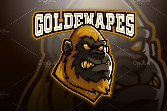 Golden Apes Logo
