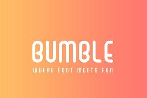 Bumble Font - Sans Serif