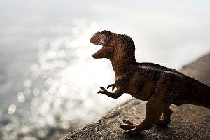 Tyrannosaurus Rex jurassic toy