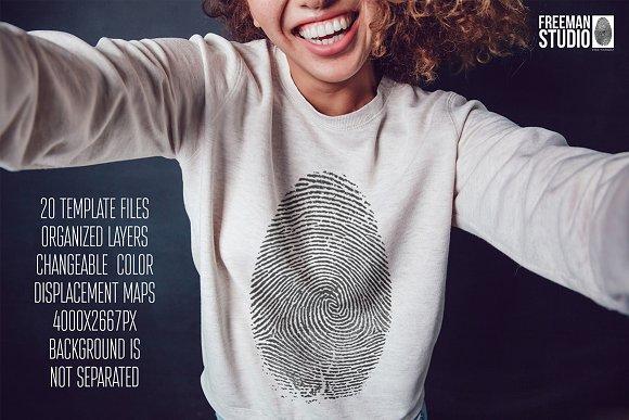 Sweatshirt Mock-Up Vol.8 20-Graphicriver中文最全的素材分享平台