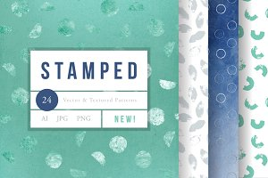 Stamped Textured Patterns