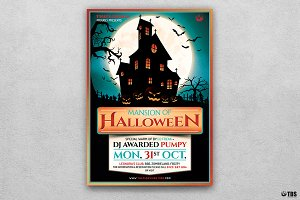 Halloween Flyer Template V20
