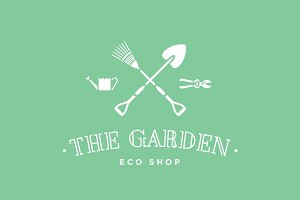 Logo of eco shop The Garden