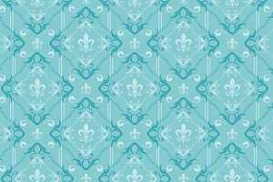 Damask wallpaper background pattern
