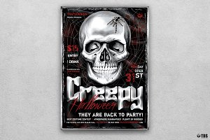 Halloween Flyer Template V21