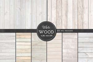 White Wood Texture Texture Pack
