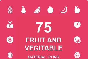 Fruit and Vegitable Material icon