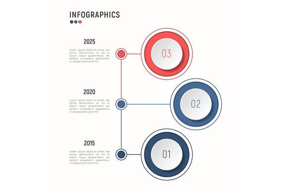 Iinfographic Template For Data Visualization 3 Steps