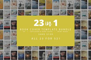 Book Cover Bundle - 85% Off