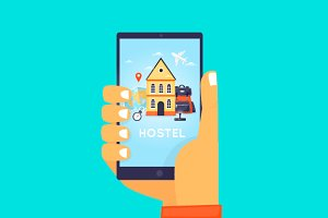 Hostel Booking On-line.