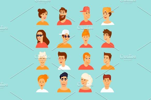 Avatars Male And Female