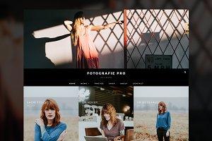Fotografie Pro: A Photoblog Theme