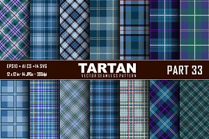 Seamless  Tartan Pattern Part - 33