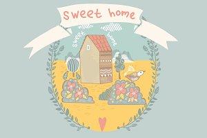 Sweet home.