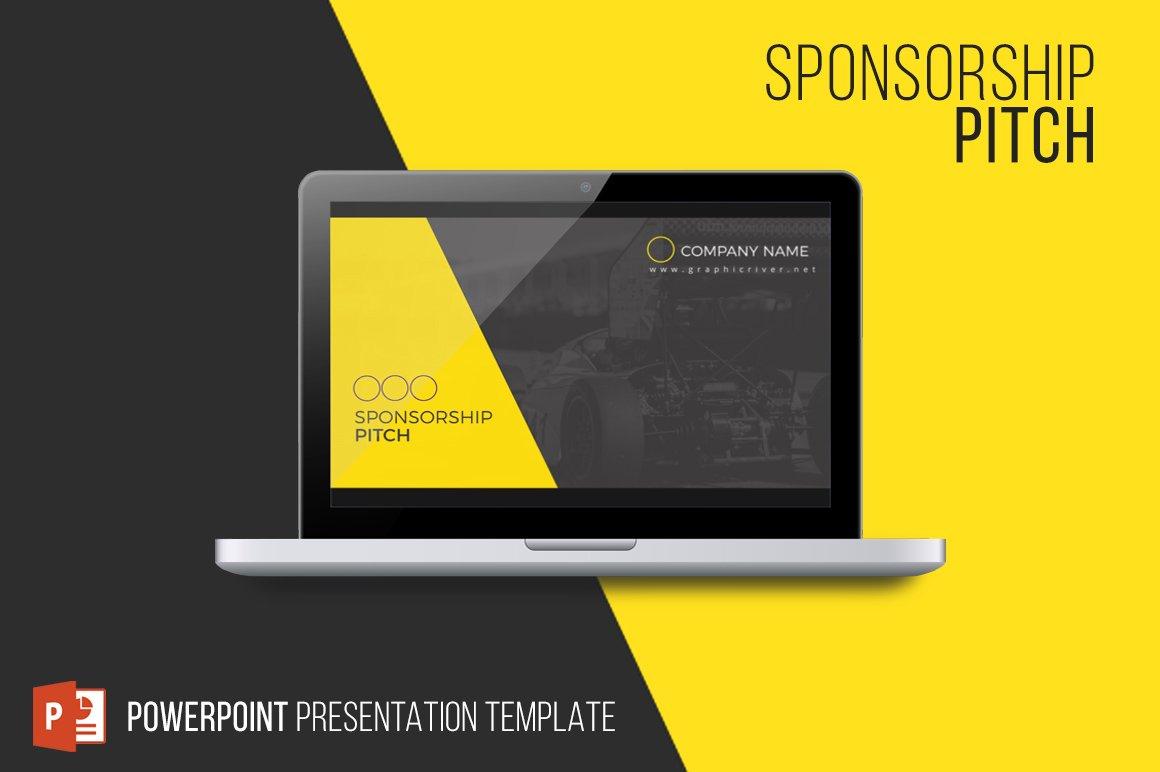 Sponsorship Pitch ~ Presentation Templates ~ Creative Market