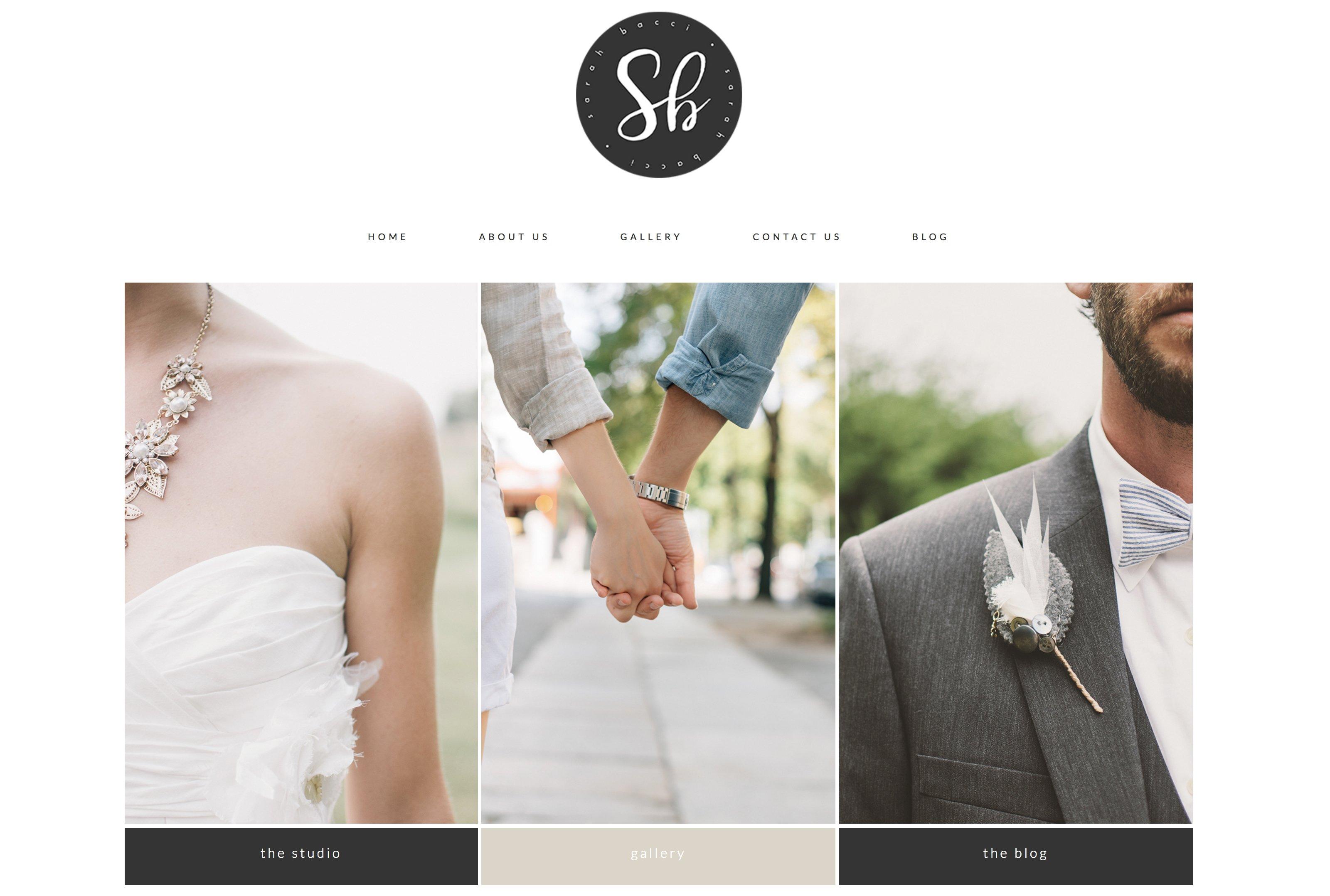 Falero - Wedding Portfolio Theme ~ WordPress Wedding Themes ...