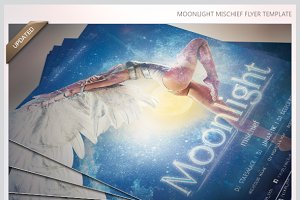 Moonlight Mischief Party Flyer