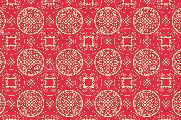Chinese Art Background Pattern Patterns Creative Market