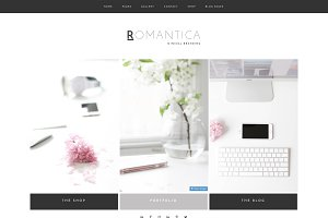 Wordpress Theme Romantica