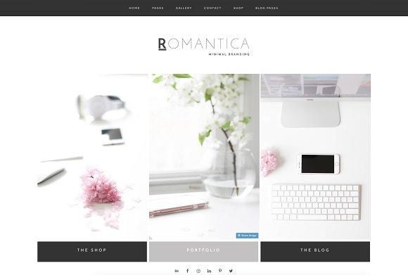 Wordpress Theme Romantica