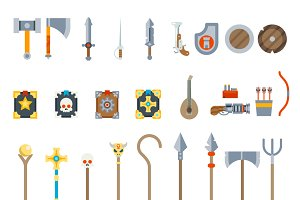 Medieval Game Weapons