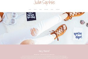 Wordpress Theme & Brand Suite - Juli