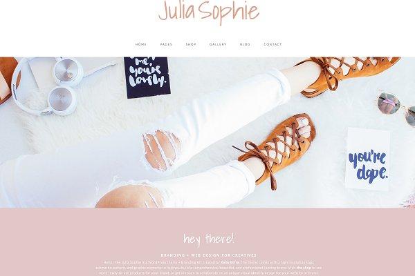 Wordpress Theme & Brand Suite - Jul…