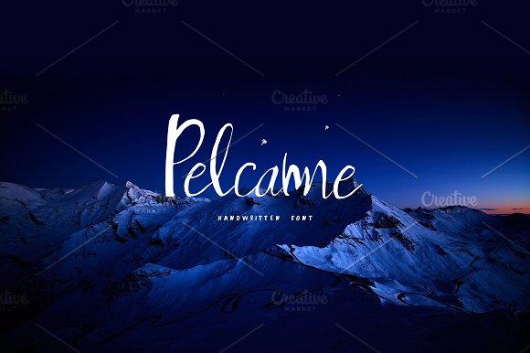 Pelcame Handwritten Font