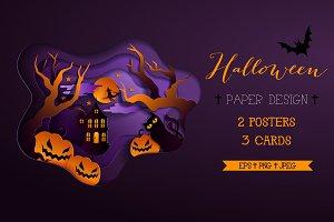 Halloween Paper Design
