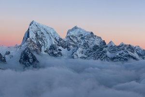 Himalayas. Mt. Cholatse.