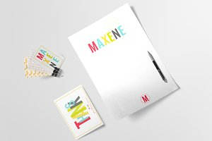 Logo & Branding Kit - Maxene