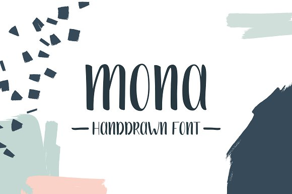 Mona Handwriting Font