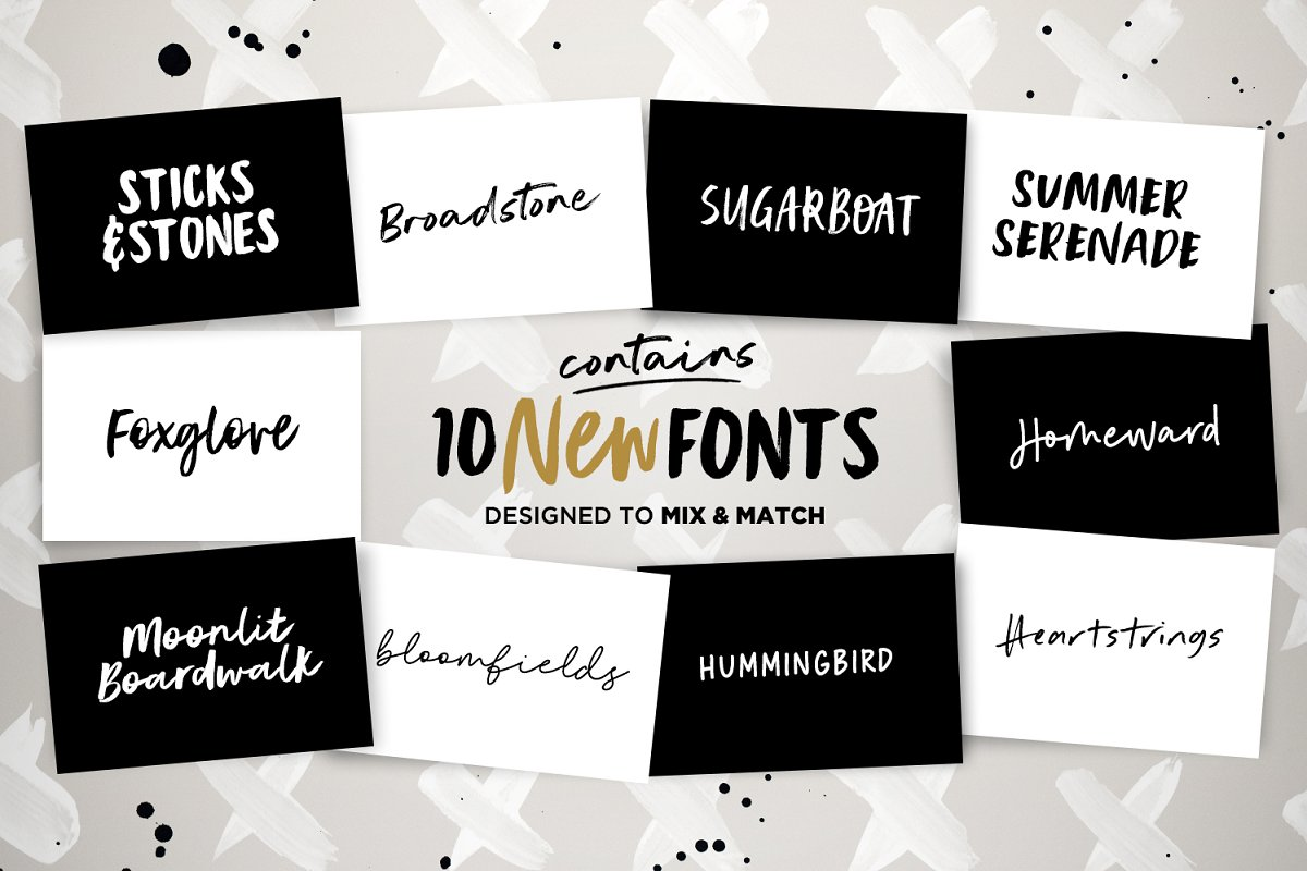 Instaquote Lettering Kit in Lettering Fonts - product preview 1
