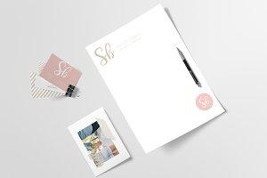 Logo & Branding Kit - Sarah