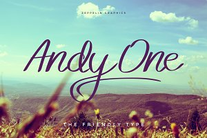 Andy One Font