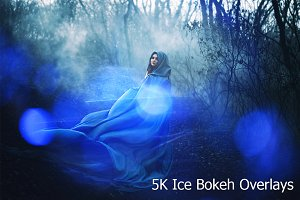 5K Ice Bokeh Overlays