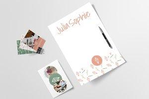 Logo & Brand Kit - Julia Sophie
