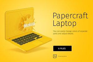 Papercraft macbook