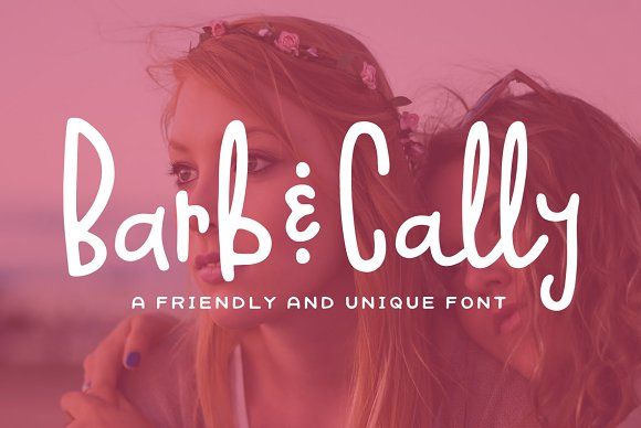 Barb Cally Font