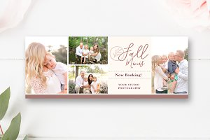 Fall Minis Facebook Timeline PSD