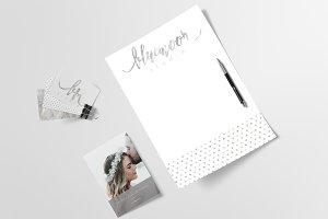 Logo & Branding Kit - Bluemoon