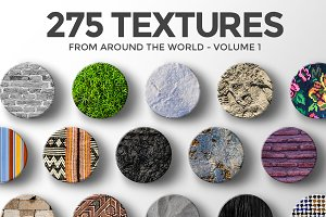 275 Textures From Around the World